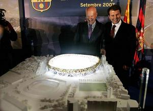 Lord Foster and Joan Laporta